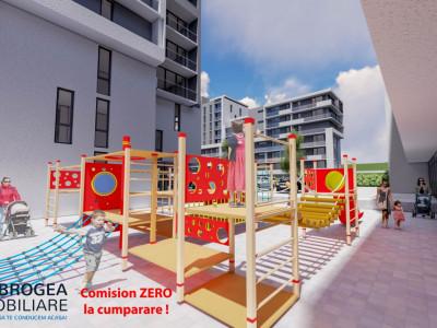 E3 PLUS, 3 camere, vedere panoramica, terasa, spatii verzi, loc de joaca