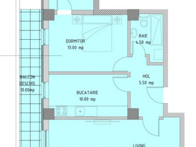 Complex E3 PLUS, Apartament 2 camere, totul nou, centrala, lift